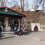 Hornické muzeum – historie těžby stříbra. Planá u Mariánských Lázní.