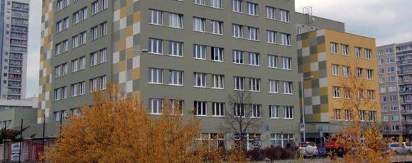 Budova, kde sídlí SPV Zlatnické